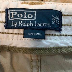 Ralph Lauren Polo khaki Cargo shorts size 30